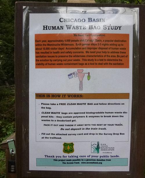 CB Human Waste Study