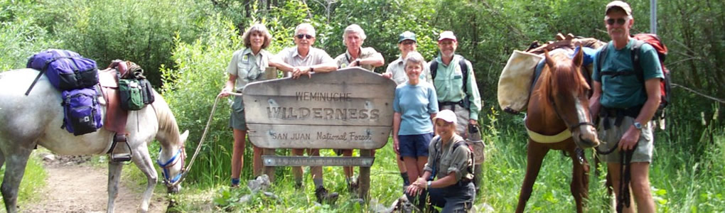 Weminuche Wilderness Information Specialists