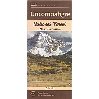 Uncompahgre Mountain Division Map