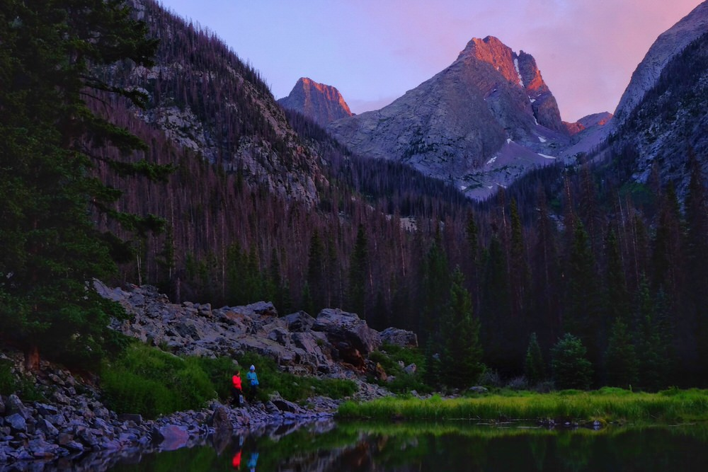 Elk Creek Trail Sunset