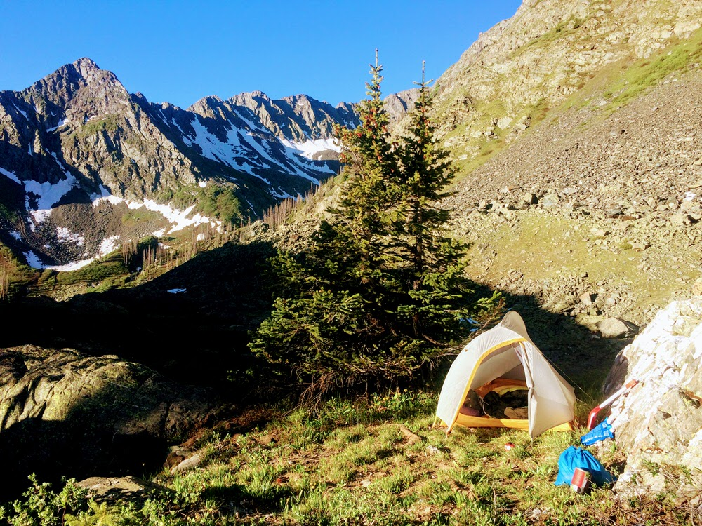 Pine River Colorado Camping