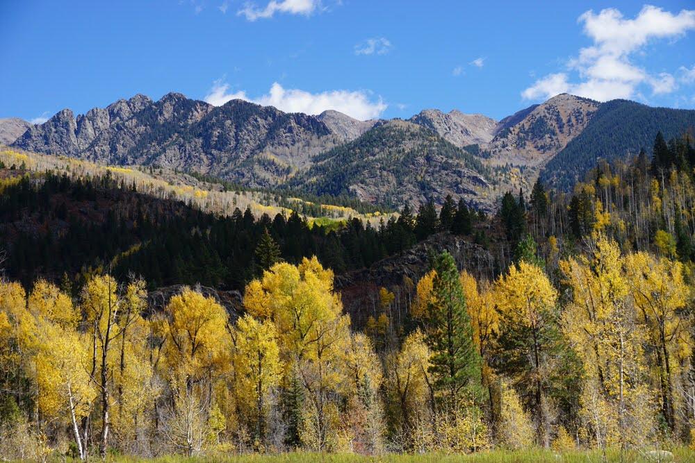Purgatory Flats in Colorado's Weminuche Wilderness in Fall